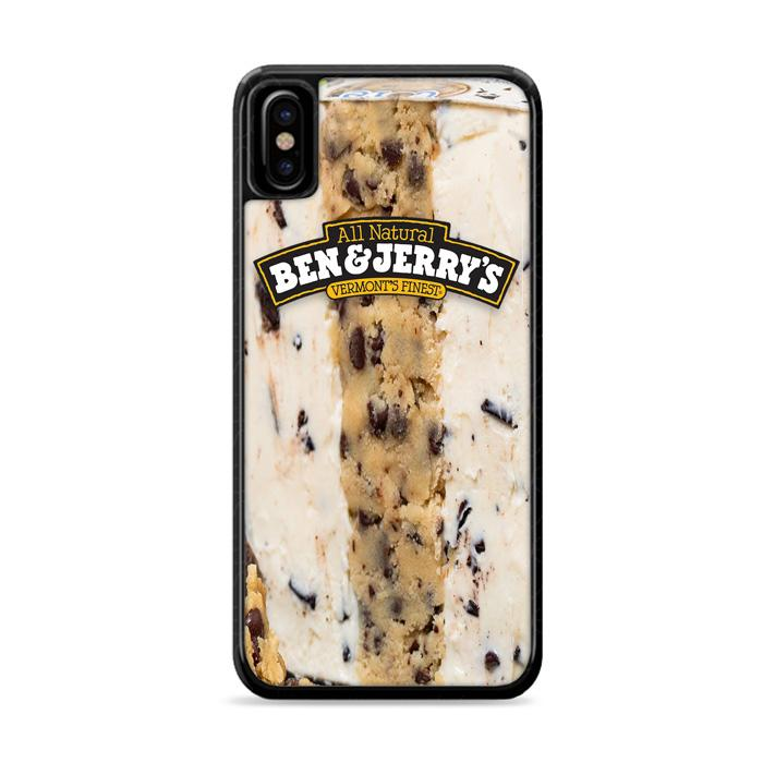 Ben & Jerry's Chocolate Chip Ice Cream iPhone XS Max HÜLLE