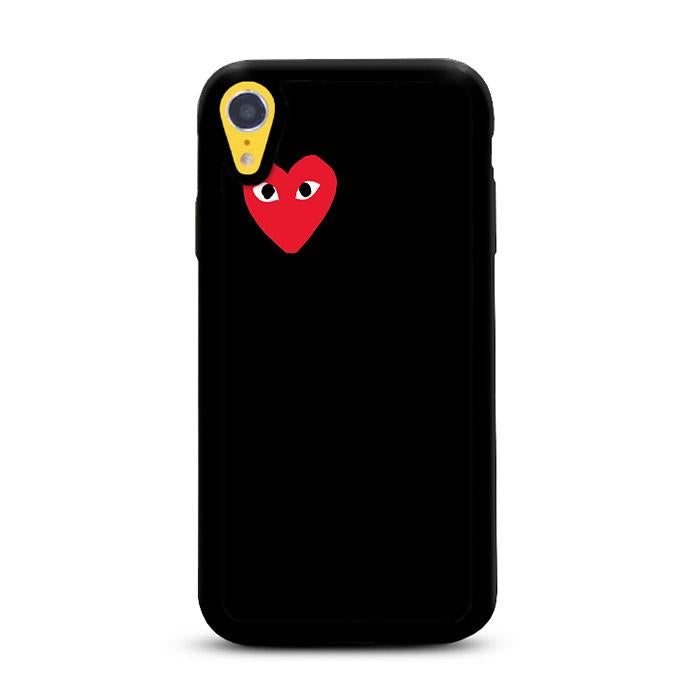 Bape Heart Black iPhone XR HÜLLE