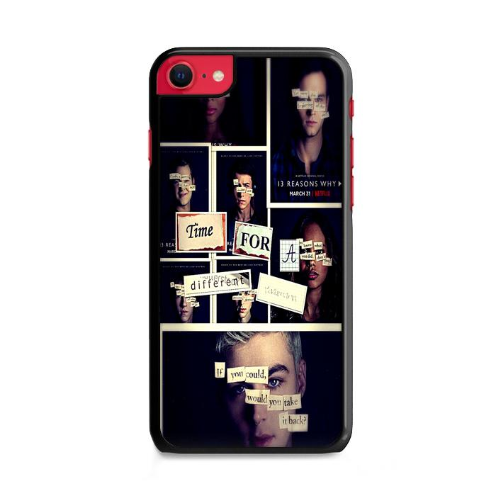 All 13 Reasons Why 2 Poster iPhone SE 2020 (2nd Gen) HÜLLE