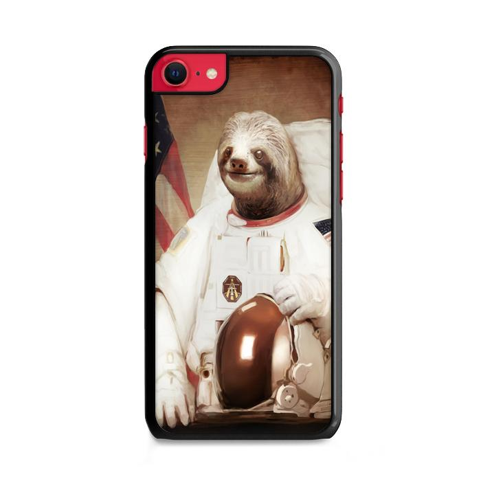 Astronaut Sloth iPhone SE 2020 (2nd Gen) HÜLLE
