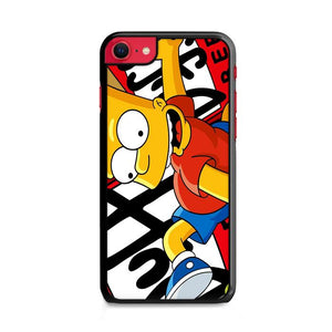 Bart The Simpsons Duff iPhone SE 2020 (2nd Gen) HÜLLE