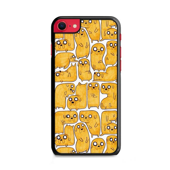 Adventure Time Jake Pattern iPhone SE 2020 (2nd Gen) HÜLLE