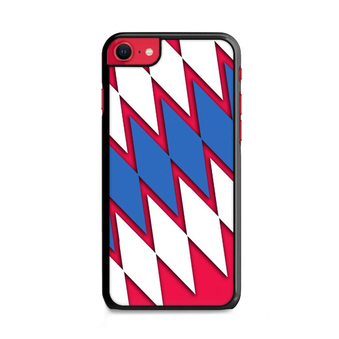 FC Bayern Munchen Pattern iPhone SE 2020 (2nd Gen) HÜLLE