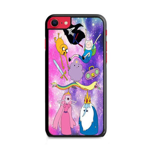 Adventure Time Galaxy iPhone SE 2020 (2nd Gen) HÜLLE