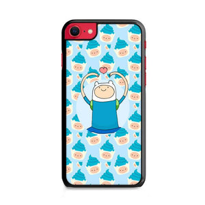 Finn Cake Pattern iPhone SE 2020 (2nd Gen) HÜLLE