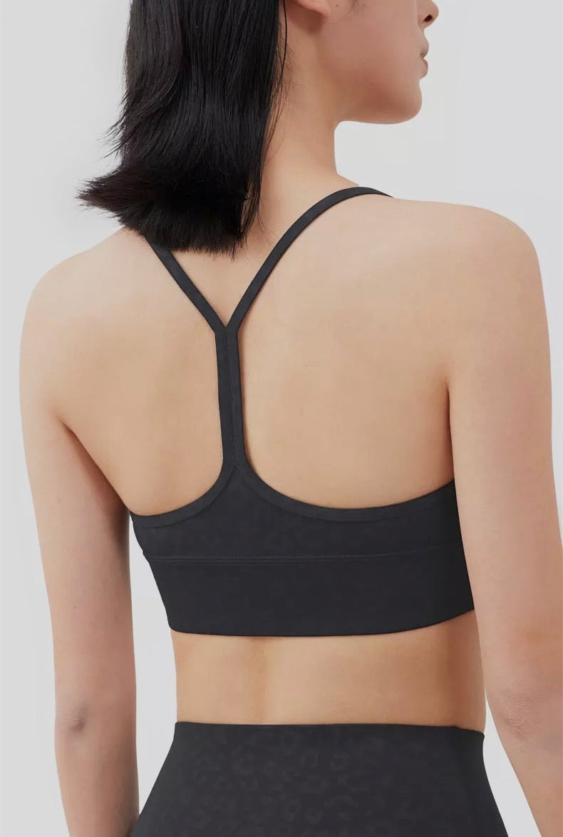 Black Leopard Sports Bra