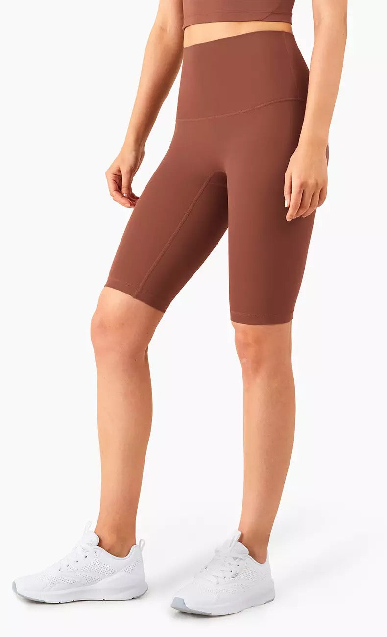Biker Shorts in Ancient Copper