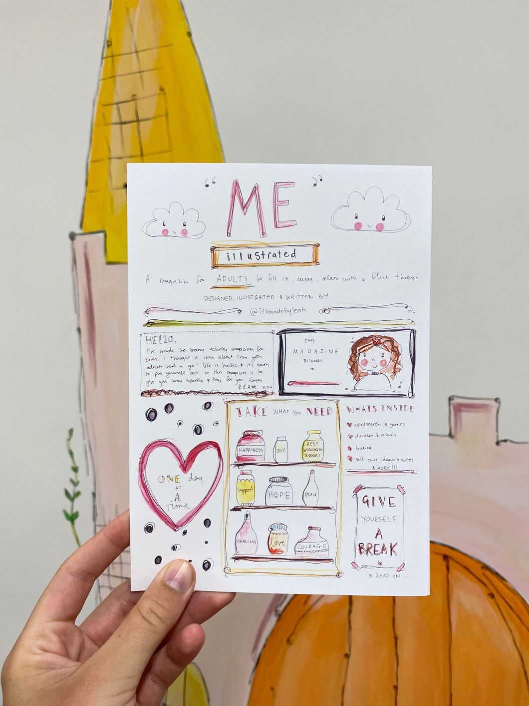'ME' illustrated magazine for adults