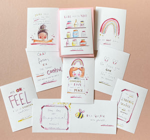 Positive quotes postcards take what you need- pack of 10