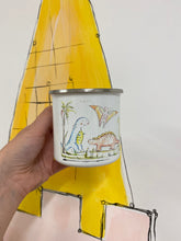 Load image into Gallery viewer, Dinosaurs enamel mug