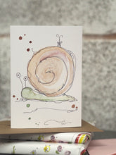 Load image into Gallery viewer, Bumper The Snail card
