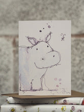 Load image into Gallery viewer, Star The Hippo card