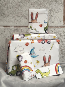Doodle wrapping paper