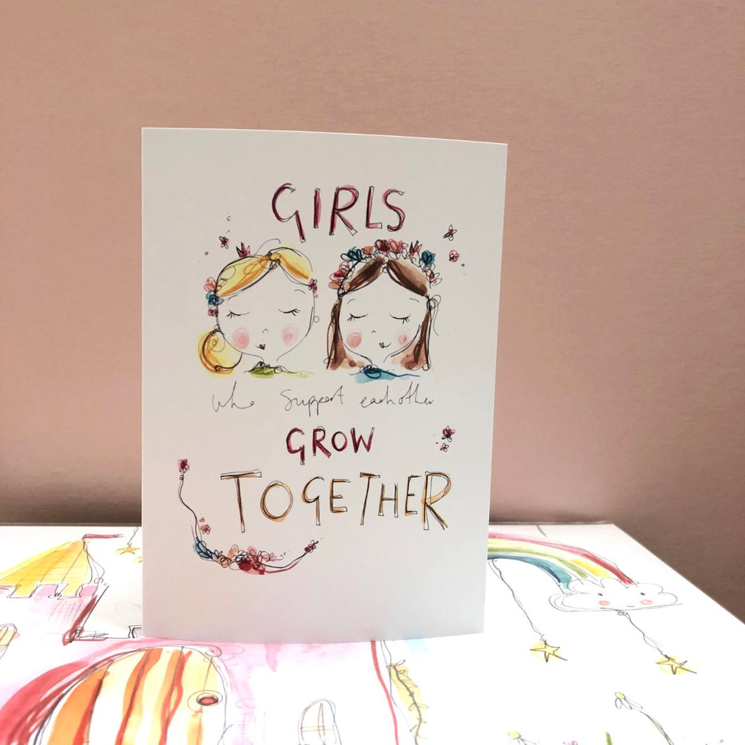 GIRLS support card