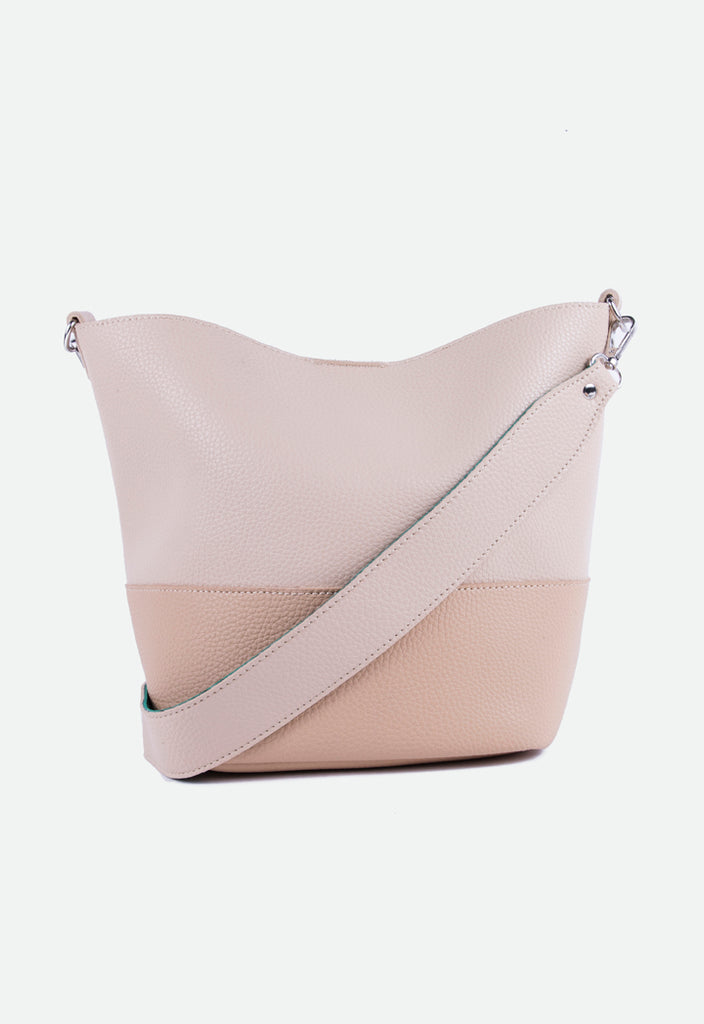 Color Block Tote Bag - Fresqa