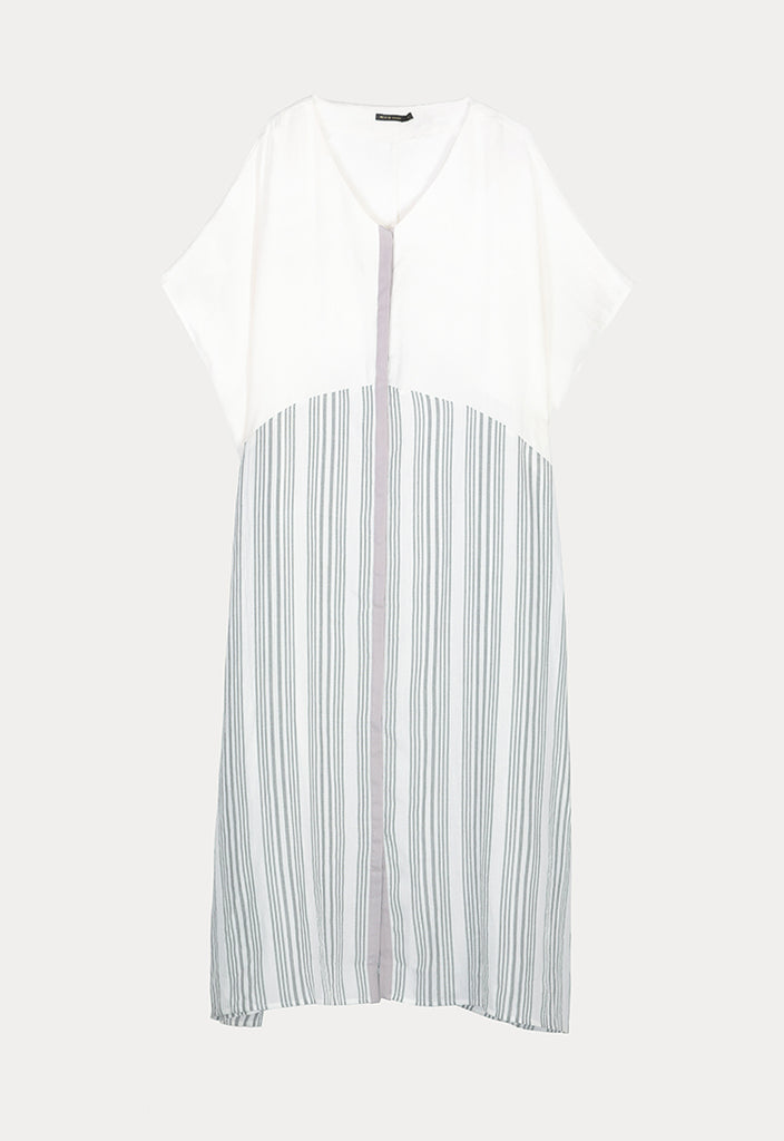 Block Stripes Dress - Fresqa