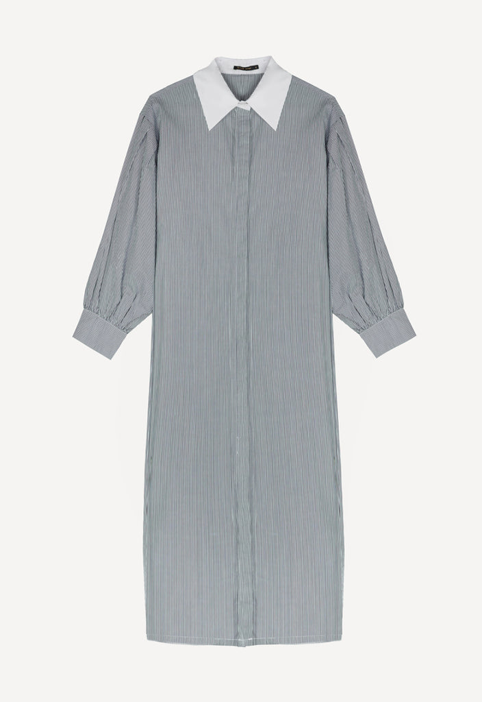 Colored Shirt Dress - Fresqa