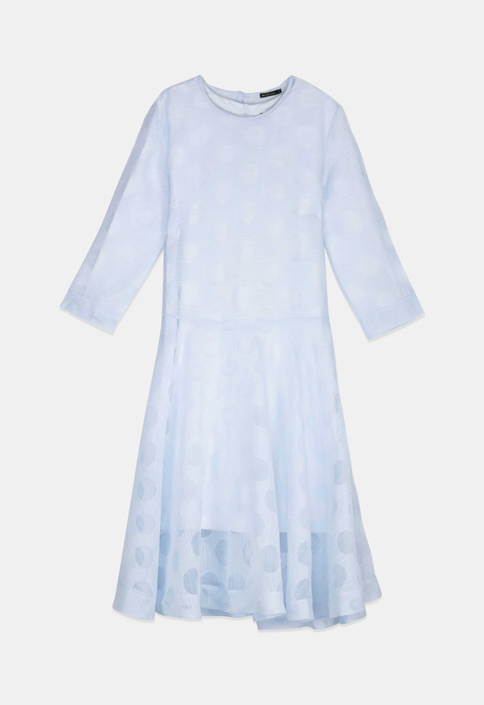 Polyester Organza Dress - Fresqa