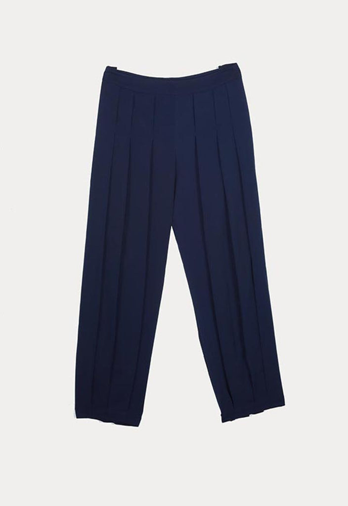 Solid Pleated Trouser - Fresqa