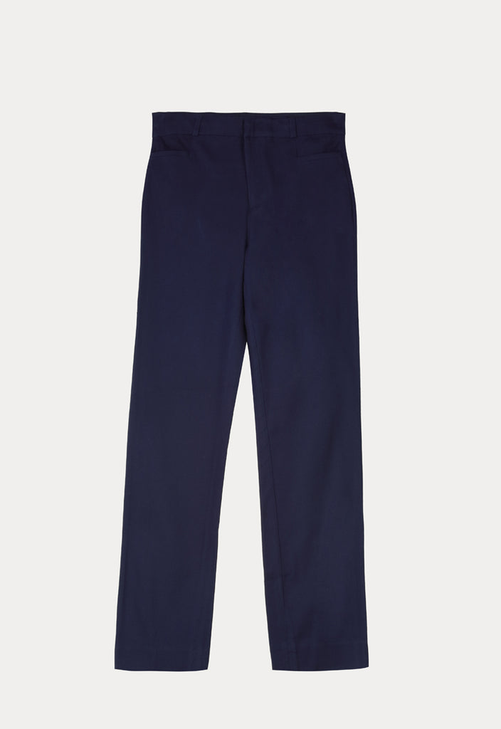 Solid Fitted Trouser - Fresqa