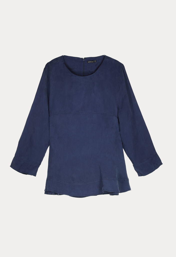 Solid Color Blouse - Fresqa