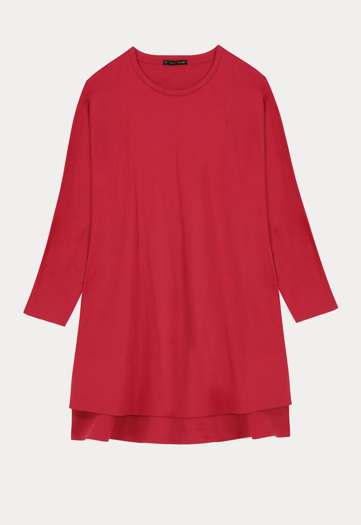Jersey Basic Long Sleeves Top - Fresqa
