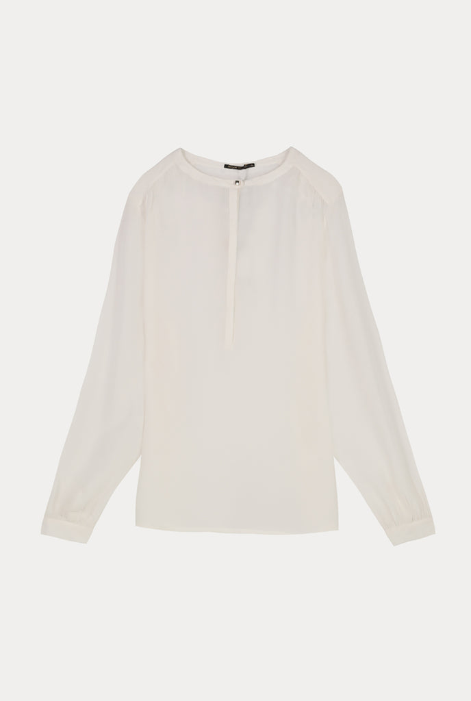 Solid Crepe Blouse - Fresqa