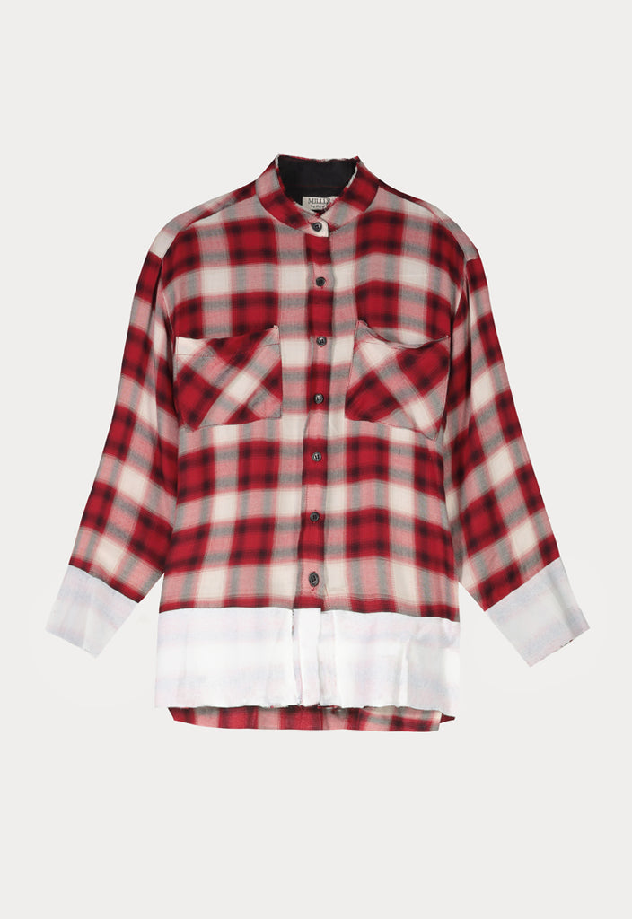 Soft Checkered Shirt - Fresqa