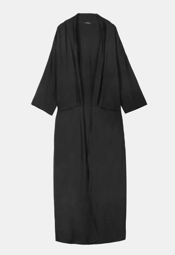 Black Maxi Cover Up - Fresqa