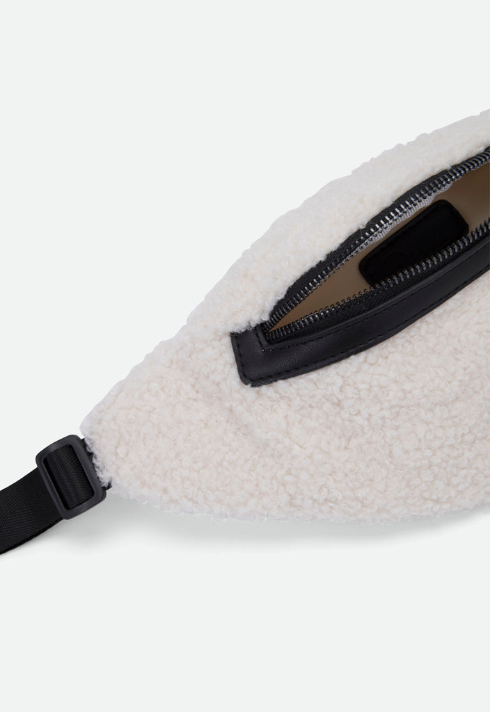 Shearling Fur Belt Bag - Fresqa