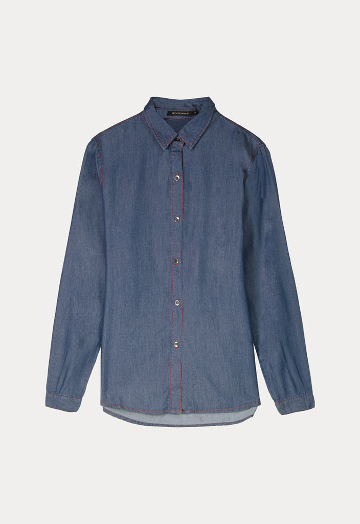 Tencel Long Sleeve Shirt - Fresqa