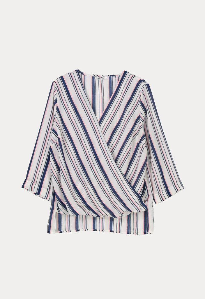 Blouse Multi Stripes - Fresqa