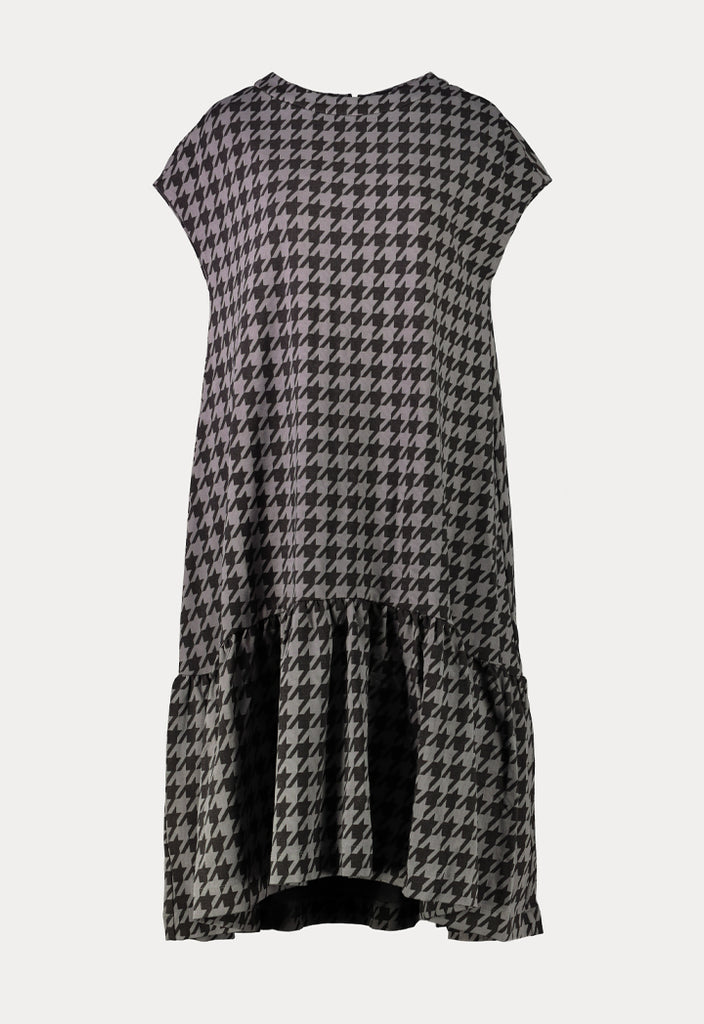 Geometric Print Dress - Fresqa