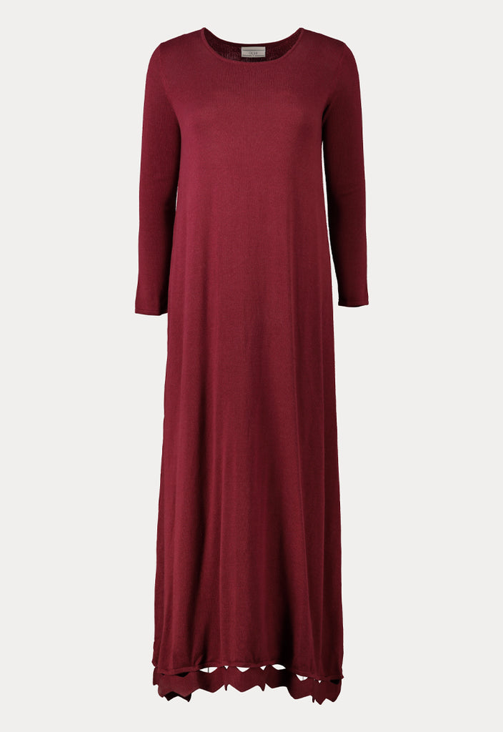 Maxi Length Knit Dress - Fresqa