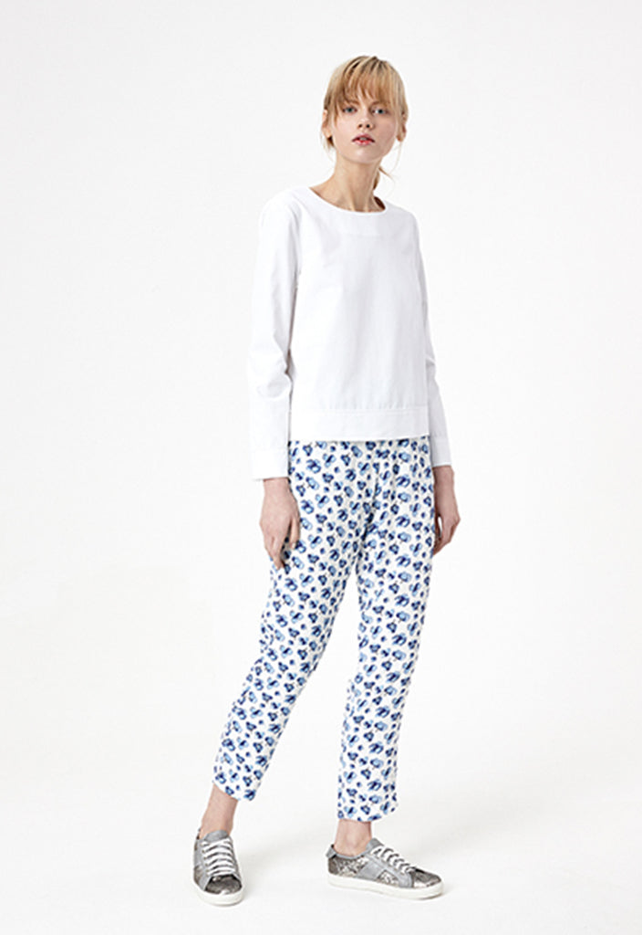 Floral Smart Fit Trouser - Fresqa