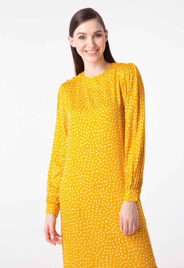 Polka Dot Pattern Dress - Fresqa