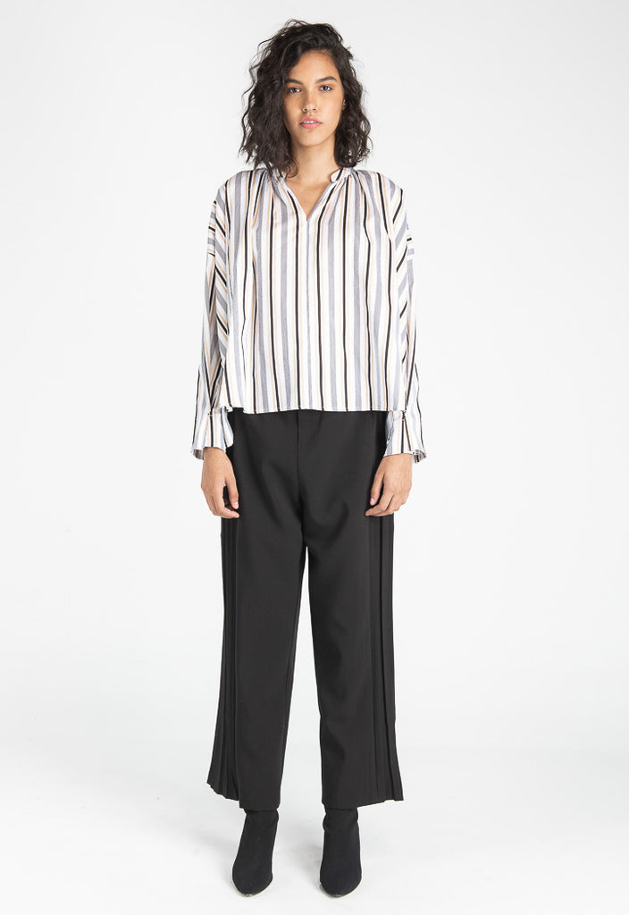 Striped Wide Top - Fresqa