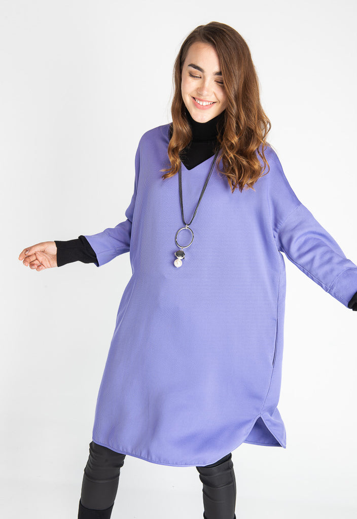 Textured Overlay Dress - Fresqa