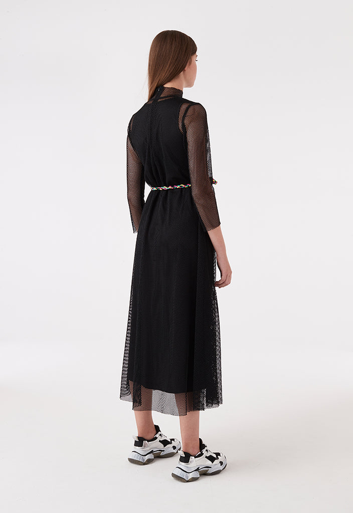 A-Line Net Dress - Fresqa