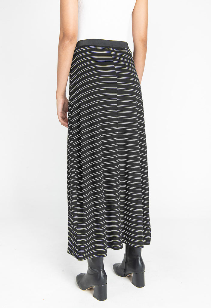 Striped Maxi Skirt - Fresqa