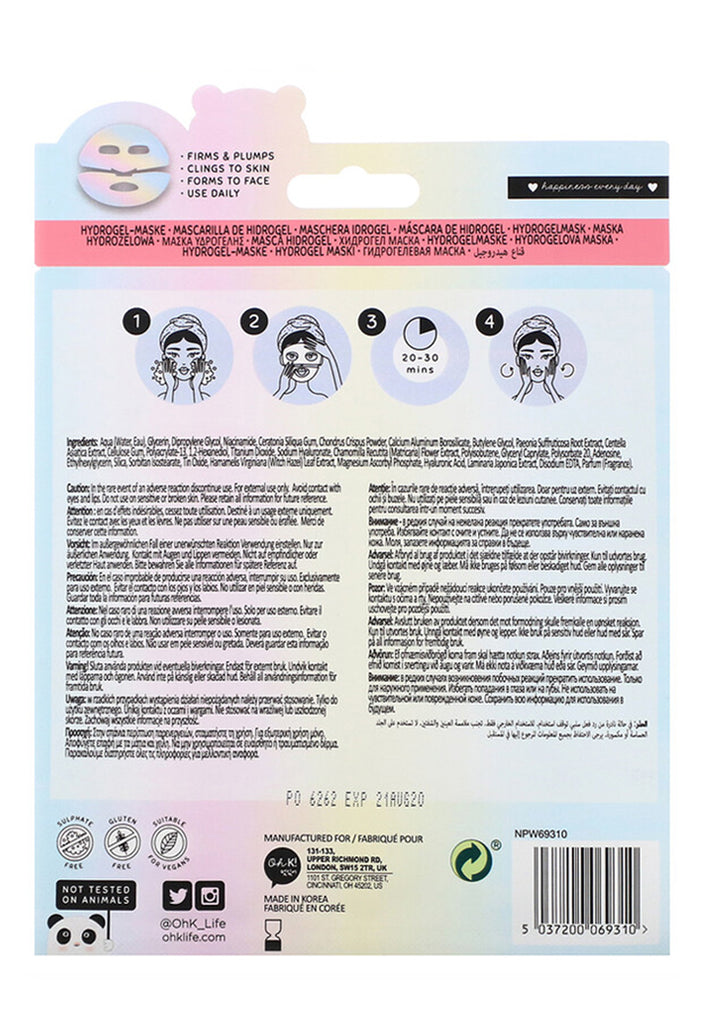 Oh K! Super Hydrating, Hydrogel Mask - Fresqa