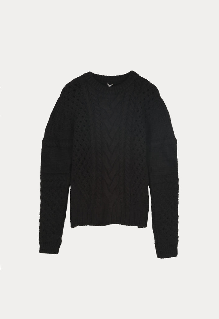 Cable Knit Top - Fresqa