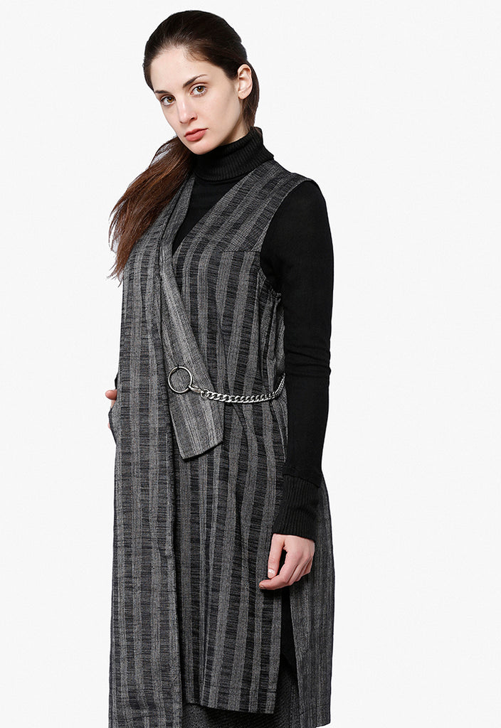 Striped Fresco Outerwear - Fresqa
