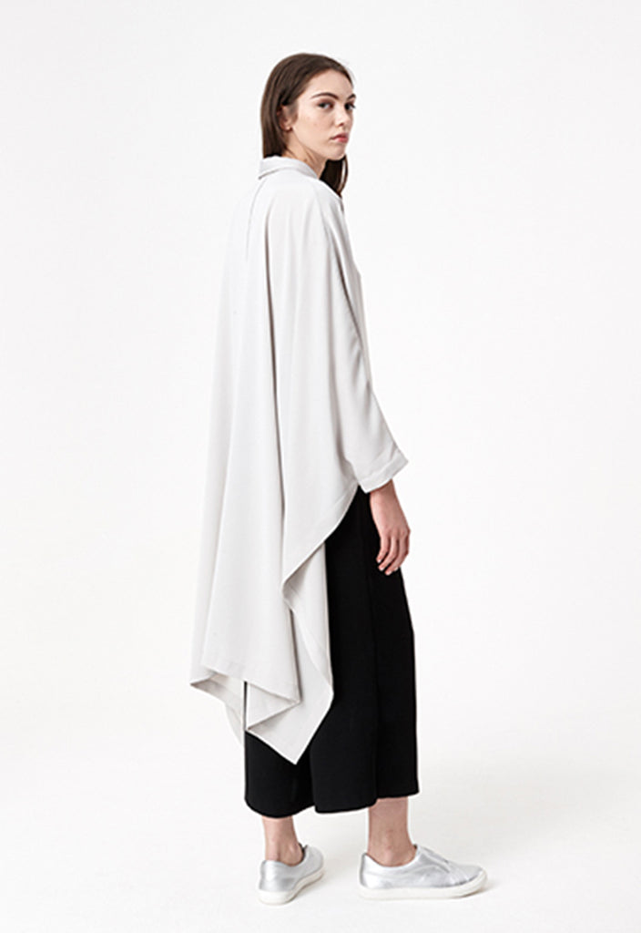 Fluid Cape Shirt - Fresqa