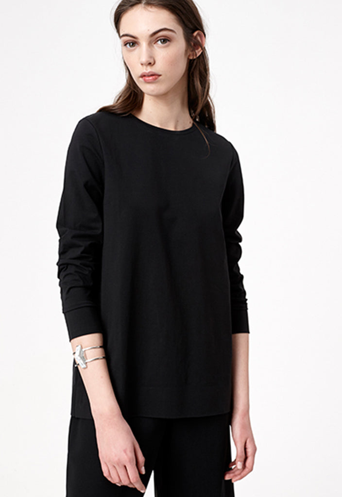 Solid Relaxed Fit Top - Fresqa
