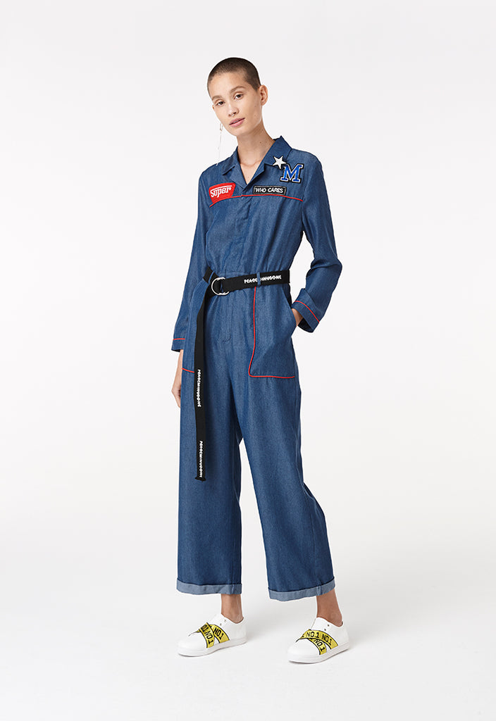 Patch Jumpsuit - Fresqa