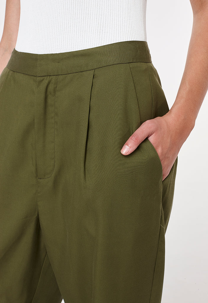 Olive Uniform Pants - Fresqa