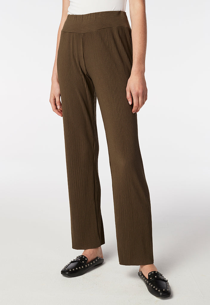 Pleated Soft Trouser - Fresqa