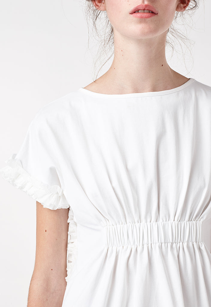 Frill Gathered Blouse - Fresqa
