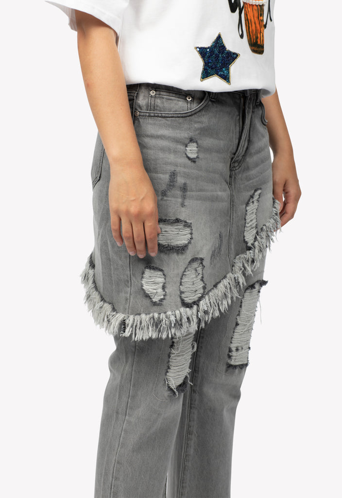 Skirt Over Pants Combo - Fresqa